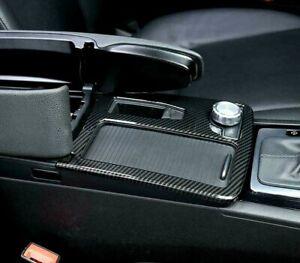 Passend für Mercedes Benz W204 W212 Carbon Mittelkonsole Rahmen Blende Schutz