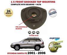 Para Hyundai Santa Fe 2001-2006 Frontal Amortiguador de goma de montaje superior
