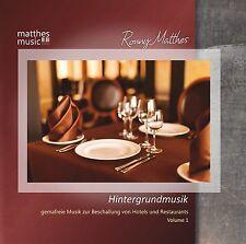 Hintergrundmusik, Vol. 1 [Gemafreie Musik zur Beschallung von Restaurants] CD