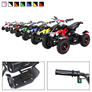 Elektro Quad Miniquad Kinder Atv Cobra 800 Watt Pocketquad Kinderquad Pocketbike