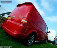 VW T5 Sportline barn door doors TAILGATE roof REAR SPOILER Wing Trim Cover Trunk