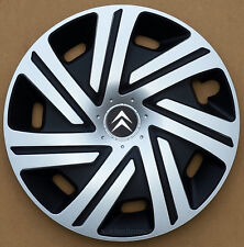 "Set of  4x15"" wheel trims to fit Citroen C3,C4,C5,Picasso"