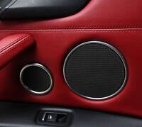 Pair Chorme Seat Side Frame Cover Trim For Land Range Rover Sport Vogue 2014-17