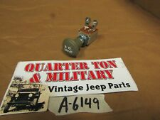Jeep Willys MB GPW Blackout light switch Museum Quality with metal knob G503