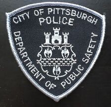 Vintage Piitsburgh Pennsylvania Police Shoulder Patch Flash USA United States