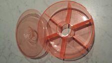 Rosti Mepal contenitore rotondo x bustine feltri te cucina arancione trasparente