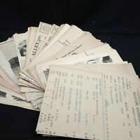 Ephemera lot  junk journaling scrapbooking vintage 3/4 lb receipt paper cut A5