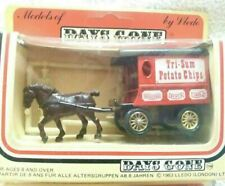 LLEDO DIECAST MODEL DELIVERY VAN HORSE DRAWN TRI SUM POTATO CRISPS