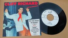 "CLIFF RICHARD -""LOVE"" -BLISTERING UNRELEASED TAKE! HEAR IT, AND THE KILLER FLIP!"