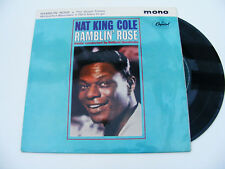 Nat   King   Cole     Ramblin'   Rose   Original   1962    EP    Vinyl   Record