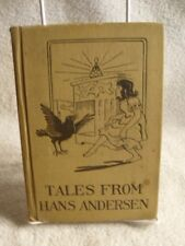 Tales From Hans Andersen Color Illustrations Maria Kirk Rare 1919 Edition Book