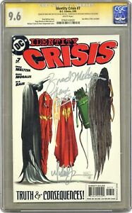 Identity Crisis #7A Turner Variant CGC 9.6 SS 2005 0764143020