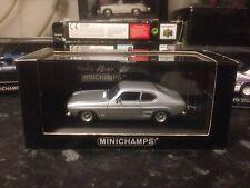Minichamps Ford Capri 1969 MK1 Silver 1/43 MIB