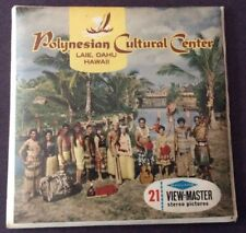 Vintage View-Master Polynesian Cultural Center Oahu Hawaii Packet A 129 Sealed