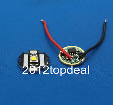 1set Cree XML-L2 White Color 10W LED Emitter on 20mm Star PCB with DC3.7V Driver