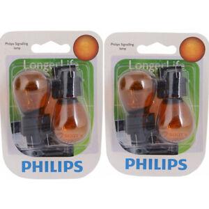 2 pc Philips 3457NALLB2 Long Life Turn Signal Light Bulbs for BP3457NALL ip