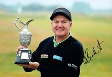 Paul BROADHURST SIGNED AUTOGRAPH 12x8 Photo 1 AFTAL COA Golf Seniors Winner