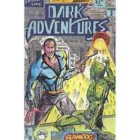 Dark Adventures #3 in Very Fine condition. Darkline comics [*zz]