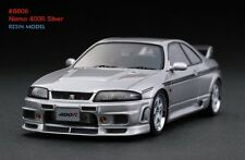 HPI #8806 Nismo 400R Silver 1/43 Resin Model Nissan R33 Skyline GTR