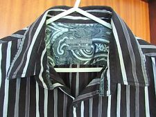**LOOK** Stunning Men's NEXT Luxury Yarns Striped Shirt UK Size Large FREE P+P