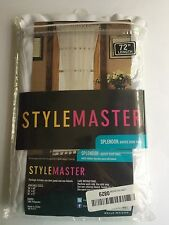 Stylemaster Home Products Stylemaster Splendor Batiste Door Panel, 56 by 72-Inch
