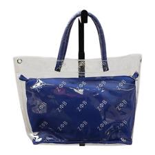 BB ZETA Phi Beta Sorority Canvas Hand Bag Purse Tote Gym Shoulder Blue 812345678994
