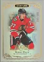 2019-20 Upper Deck Stature 395/399 Kirby Dach Chicago Blackhawks #125