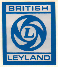 British Leyland Rocker Cover Sticker LMG1012 Mini Clubman Marina Allegro Maxi