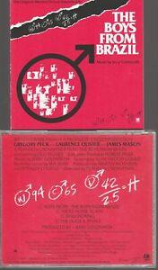 Jerry Goldsmith The Boys From Brazil Cd Import Japan (no obi) Soundtrack OST BOF