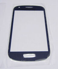 Samsung Galaxy S3 mini i8190 LCD Digitizer Screen Glass Outer Lens BLUE