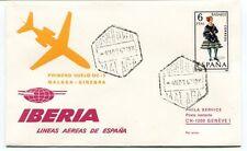 FFC 1967 Iberia DC-9 First Flight Malaga Ginebra Espana