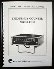 Lectrotech FC-50 Frequency Counter Manual