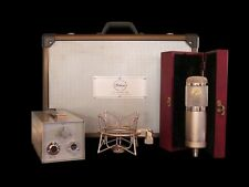 New Peluso 2247 LDC Microphone Mic w/PSU, Shock, Case, Cable (22 47), Free Ship!