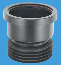 """MCALPINE DC1-BL  110MM DRAIN CONNECTOR - EASY WAY TO CONNECT TO A 4"""" SOIL PIPE"""