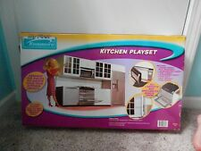 """Kenmore Kitchen Playset for 11 1/2"""" doll - Good for Barbie"""