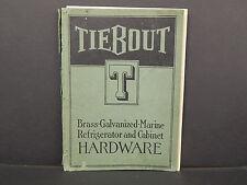 Marine Hardware Catalog, 1921 Tiebout, New York, Refrigerator U0026 Cabinet