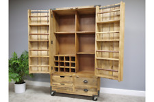 Industrial Rustic Pantry Cupboard, Cabinet, Larder Drawers, Industrial Storage
