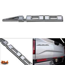 """400""Polished Metal 3D Decal Silver Emblem Sticker For Hummer/GMC/Ford/Chevrolet"