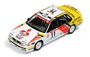 1/43 Mitsubishi Galant VR4  Ralliart Rally de France Tour de Corse 1991 R.Holzer