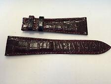 Audemars Piguet Burgundy croco strap 22x16mm