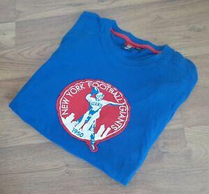 New York Giants Reebok Gridiron Classic Long Sleeve Shirt Sz Large Football EUC!