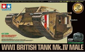 Tamiya 48214 1/35 WWI British Tank Mk.IV Male RC