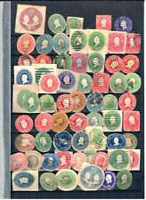 US Envelope Cut Square and Rounds used  a few Mint