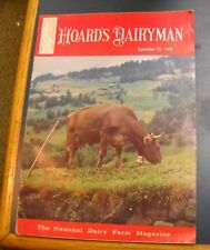 HOARD'S DAIRYMAN MAGAZINE SEP 25 1978 NATIONAL DAIRY FARM SUPER INCOME YEAR