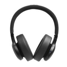 JBL LIVE 500BT Wireless Over-The-Ear Headphones Google Alexa Black 30 Hour New