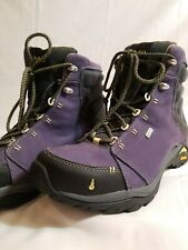 Ahnu Womens 10.5 Event Purple Hiking Boots -pristine condition