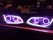 Ve Commodore s2 DRL headlights with multicoloured halo rings