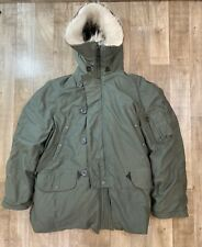 Avirex Parka Extreme Cold Weather type N-3B men's size M Scovill zippers 1984