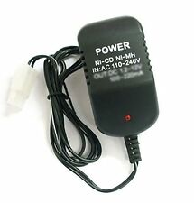 7.2V Volt Battery Pack Rechargeable charger Ni-CD Ni-MH Quick Black