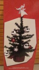 "Disney The Nightmare Before Christmas Decorated Christmas Tree 15"" Tall New 2017"
